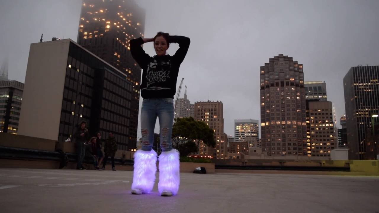 These Boots Are Made for Flashing