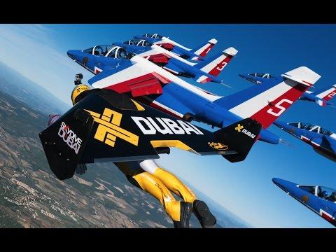 Air Force France Meets Jetman