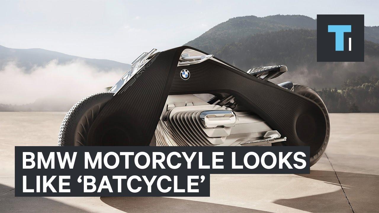 BMW's new motorcycle has a Batman look