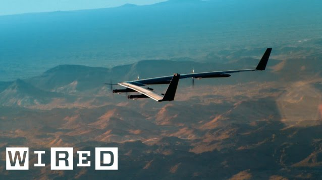 Inside Facebook's Quest to Beam the Internet Via Solar Drone