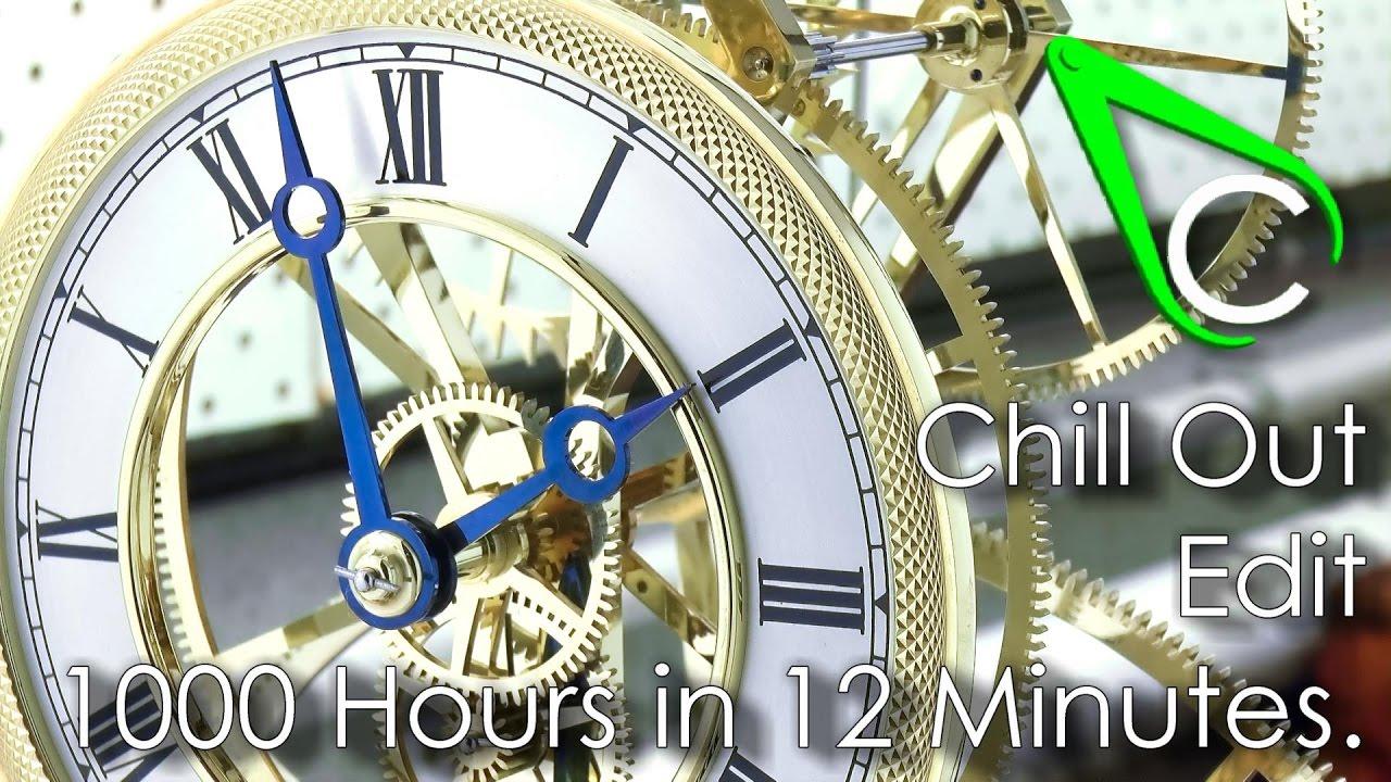 1000 hours of clockbuilding in 12 minutes