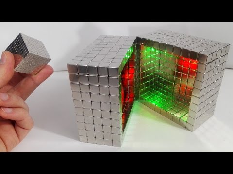 A Cube Made of Magnets