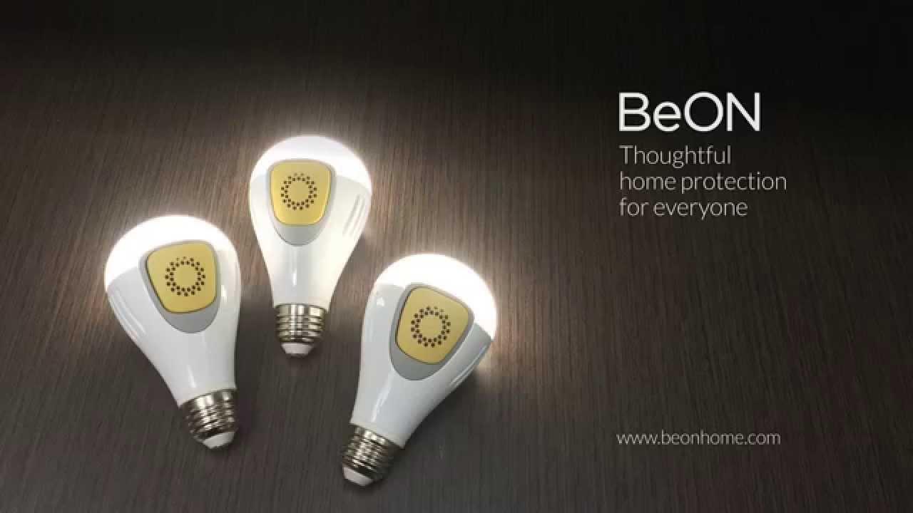 BeON - Smart Lightbulbs That Randomly Turn On to Deter Burglars