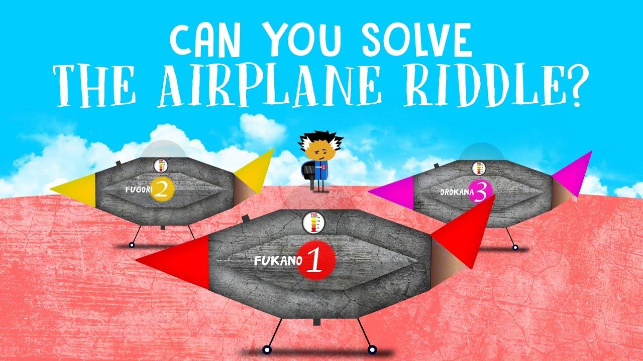 Can you solve the airplane riddle?