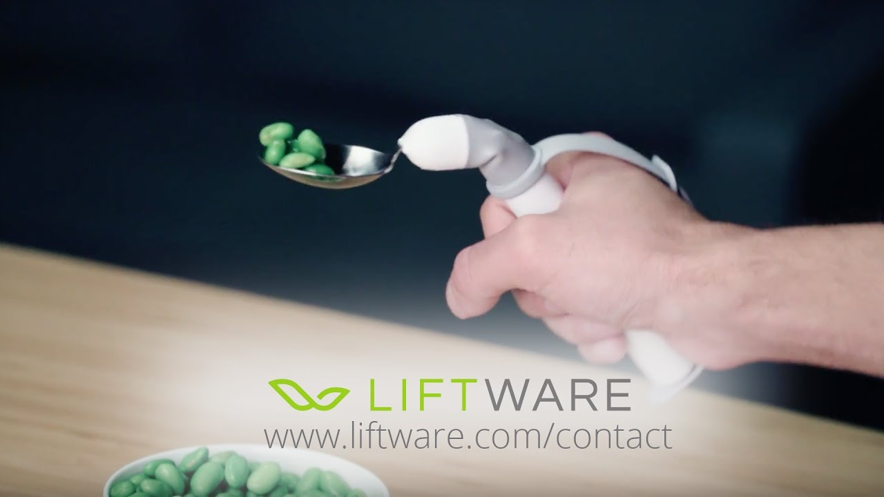 Hand Tremor Stabilizing Spoon
