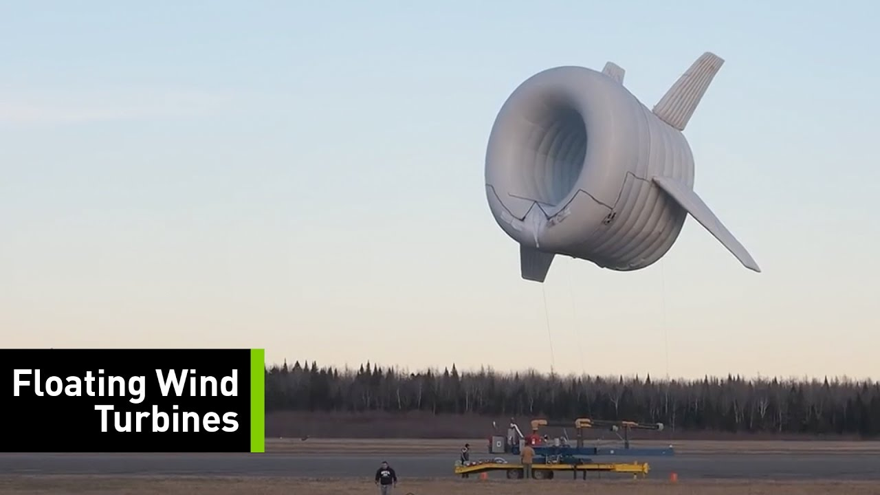 It's A Bird, It's A Plane, It's A...Floating Wind Turbine!