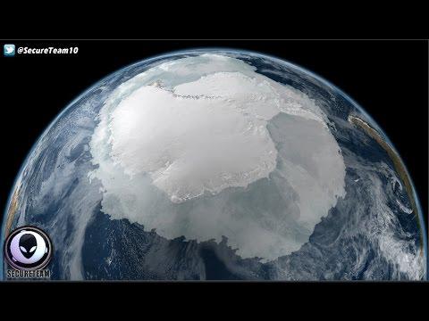 Satellite Detects Massive Object Under Antarctica