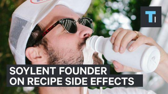 soylent founder rob rhinehart on original recipe side effects