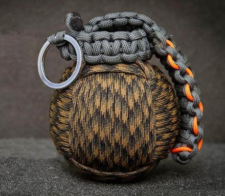 Paracord Grenade Survival Kit