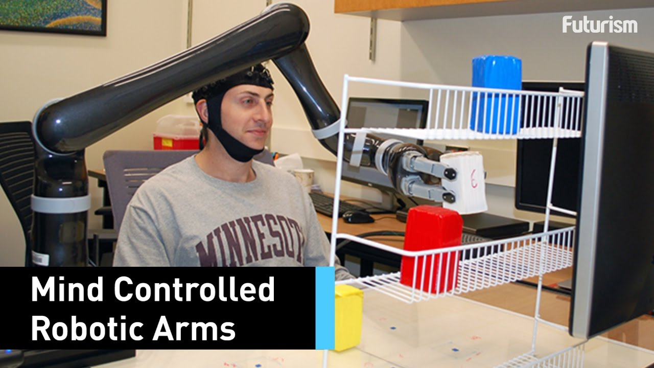 This Robotic Arm Can Be Controlled With Your Mind