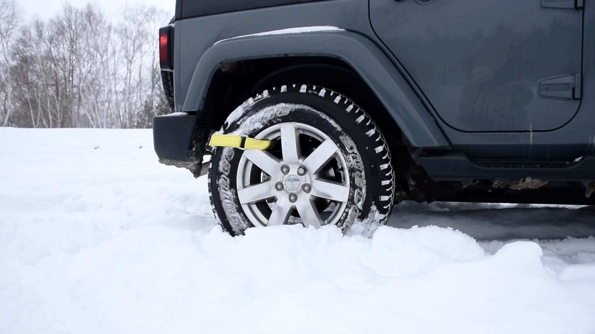 Trac Grabber - Get unstuck from snow, sand and mud