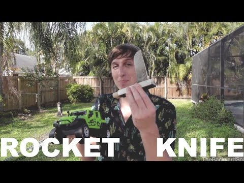 150 mph Rocket Knife