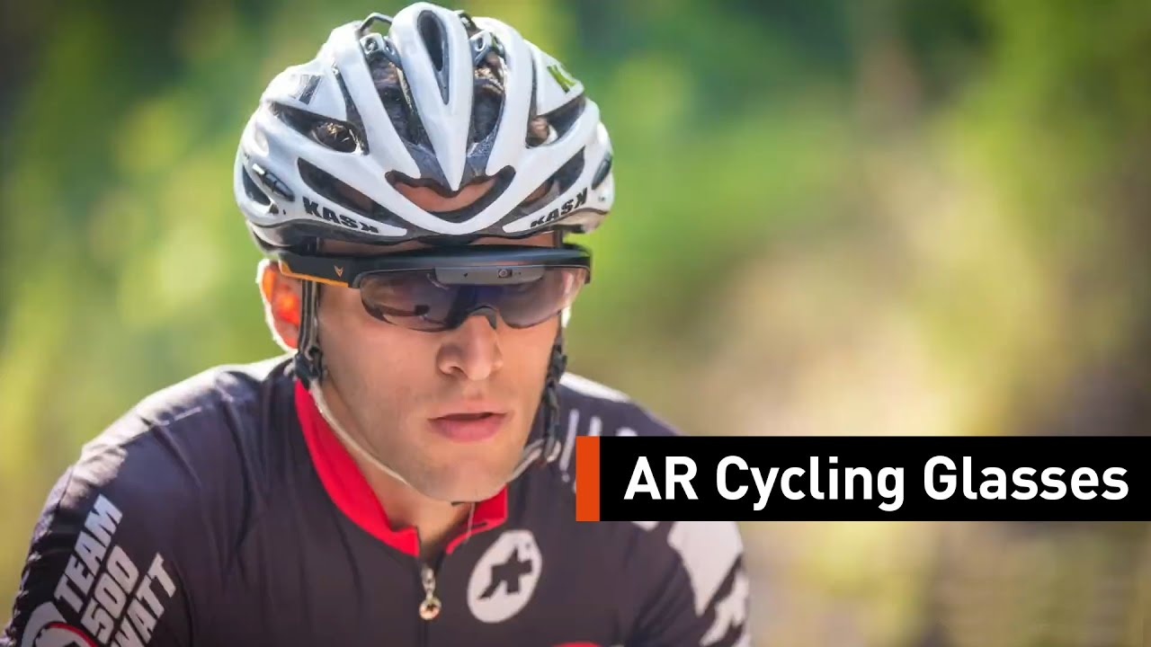 Bike Towards The Future With These AR Cycling Glasses