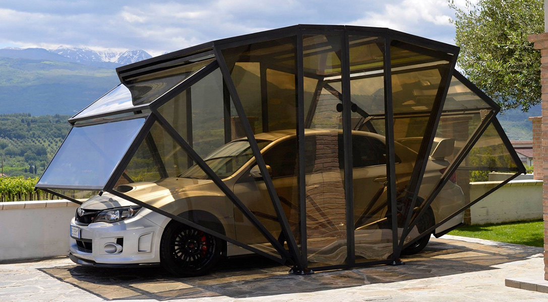 Car Cover Box - The New Concept of Garage