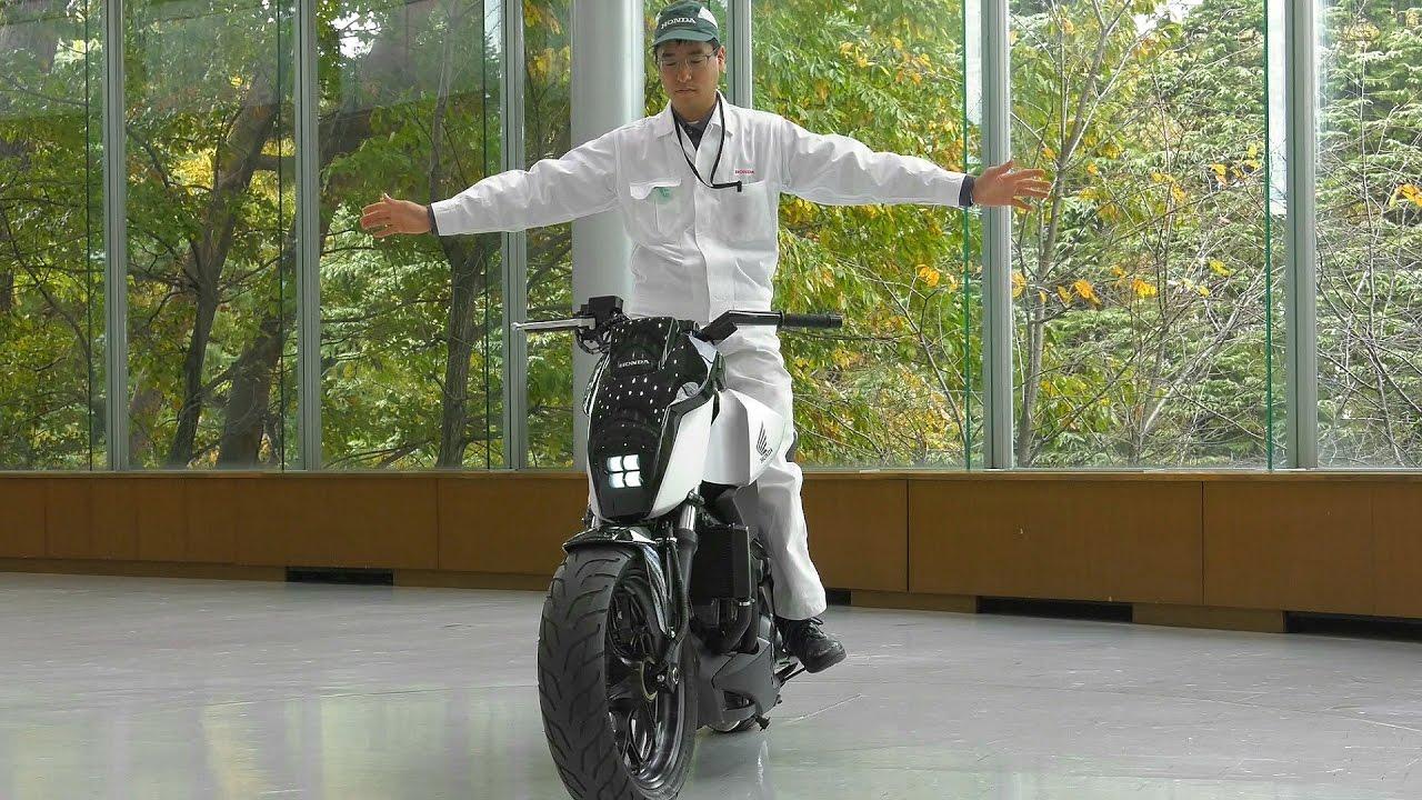 Honda Rider Assist - Self-balancing Motorcycle