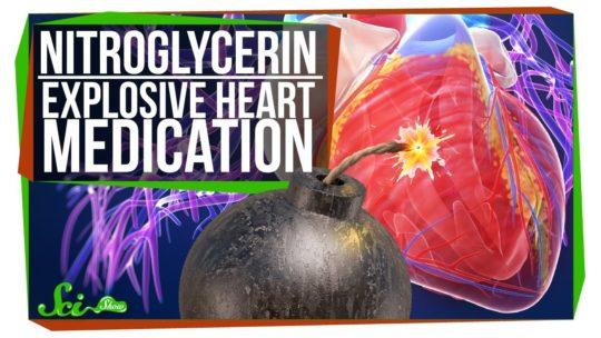 Nitroglycerin Explosive Heart Medication
