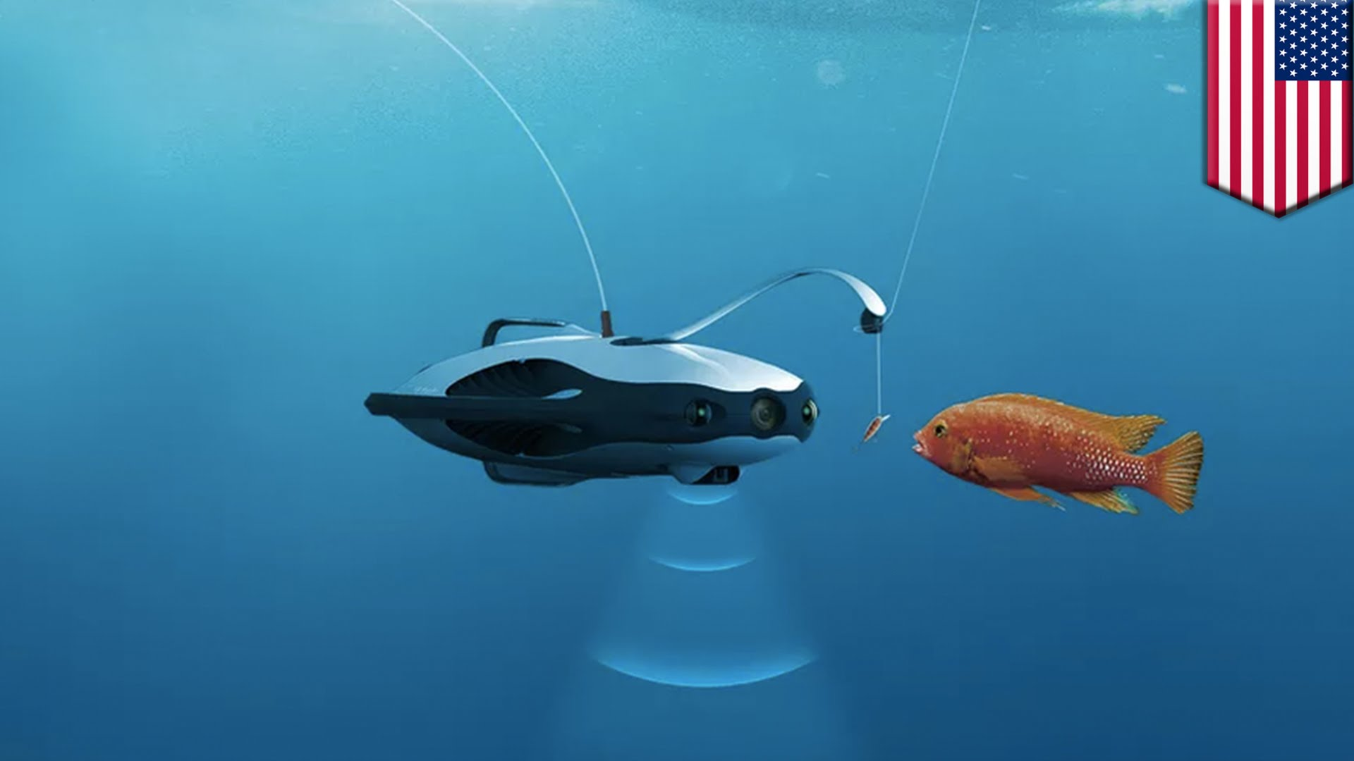 PowerRay lets users see underwater, revolutionizes fishing