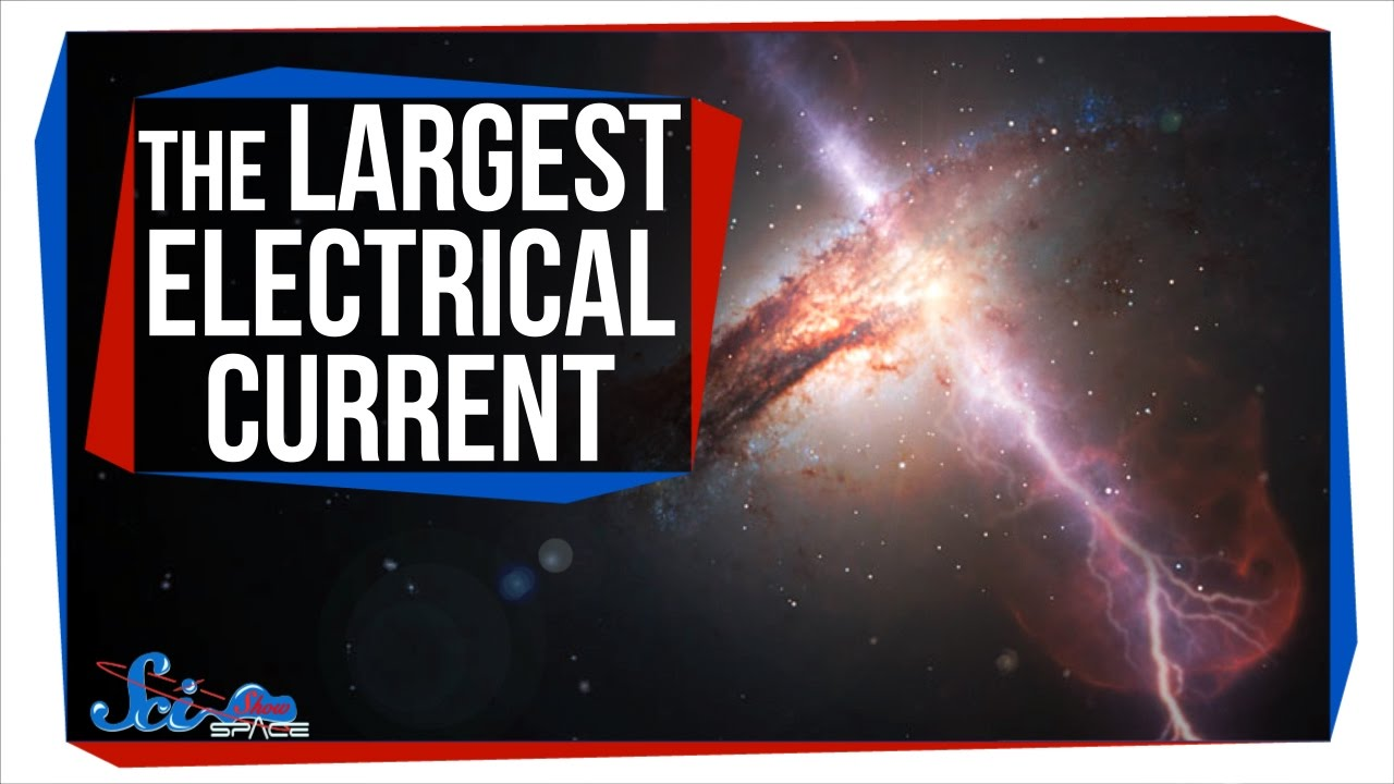 The Largest Electrical Current in the Universe