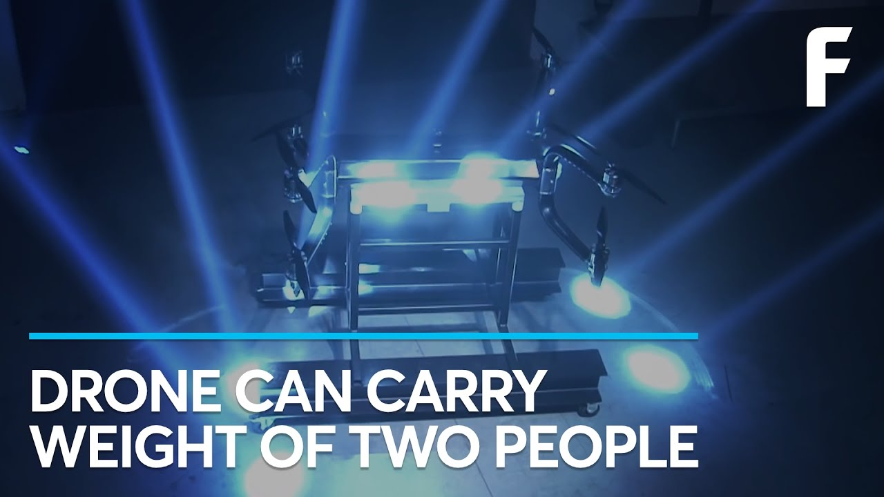 This Drone Could Carry The Weight Of Two People