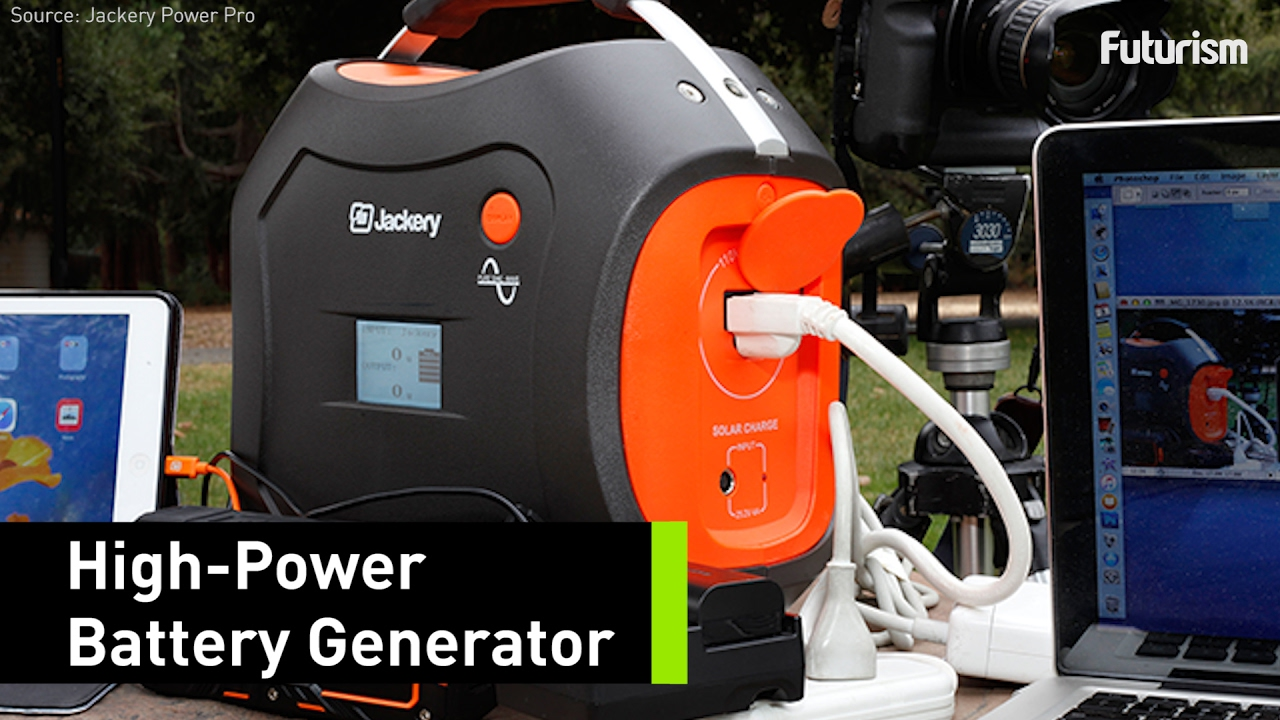 Charge This Generator and Power Your Stuff at the Same Time