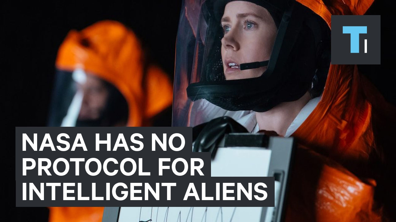 NASA has no protocol for dealing with intelligent aliens