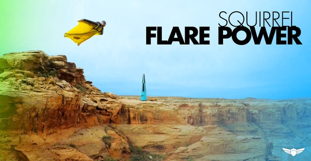Some of the newer generation wingsuits and their amazing flare power