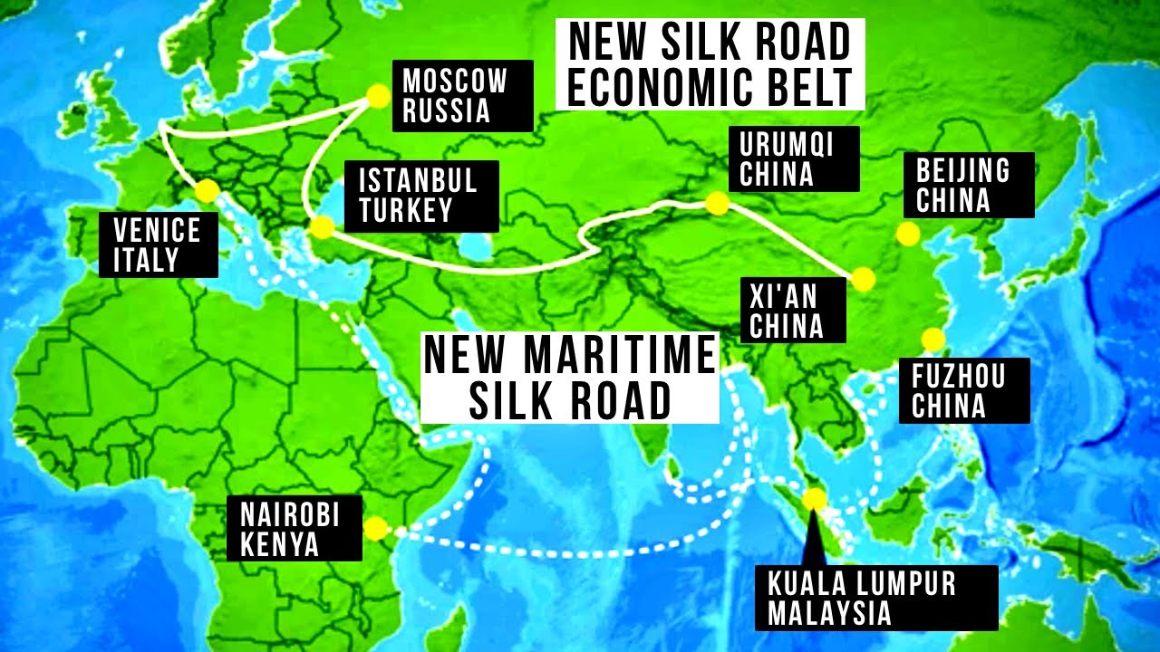 """China's New """"Silk Road"""": Future Megaprojects"""