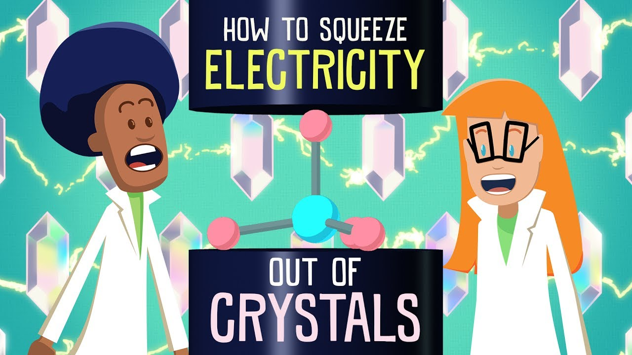 How to squeeze electricity out of crystals