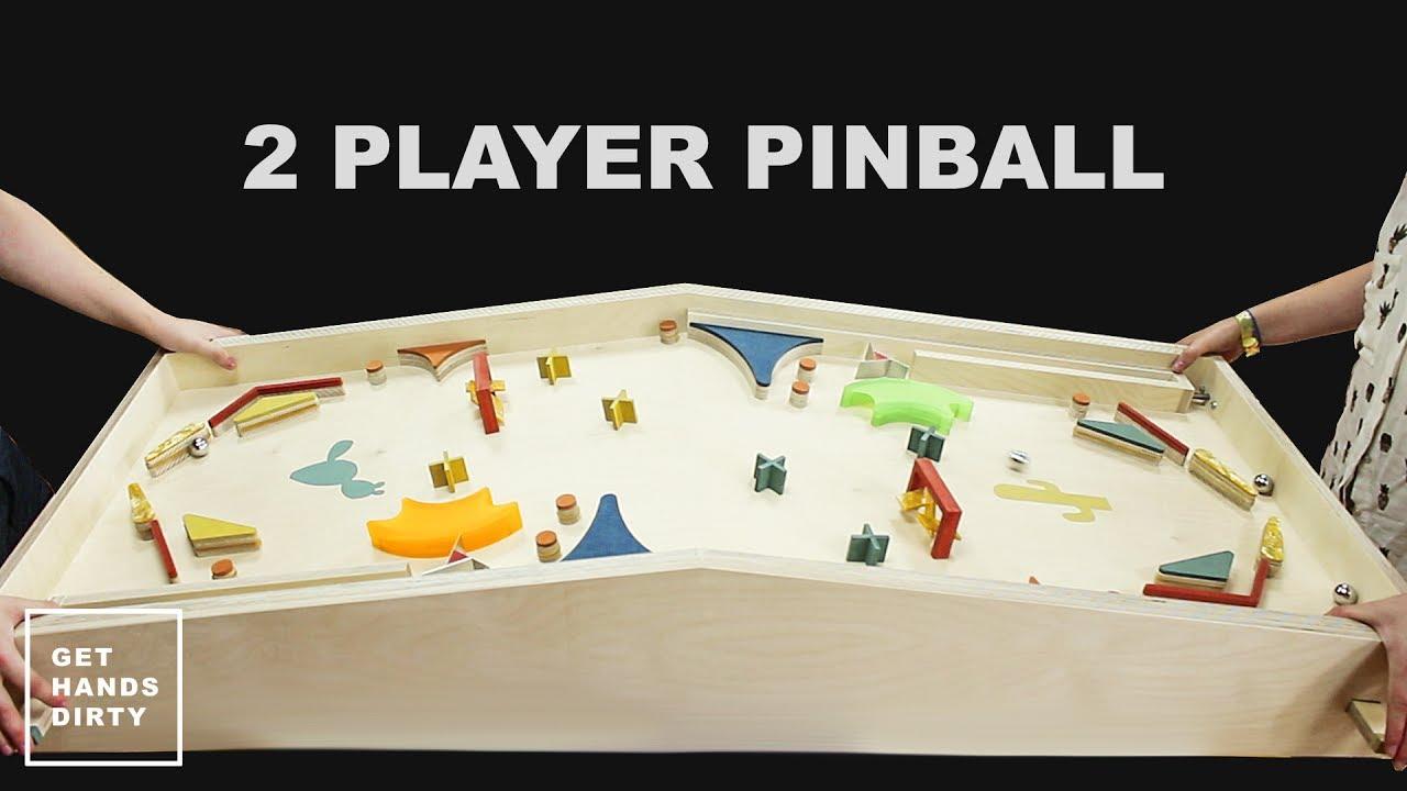 Two Player Pinball Machine