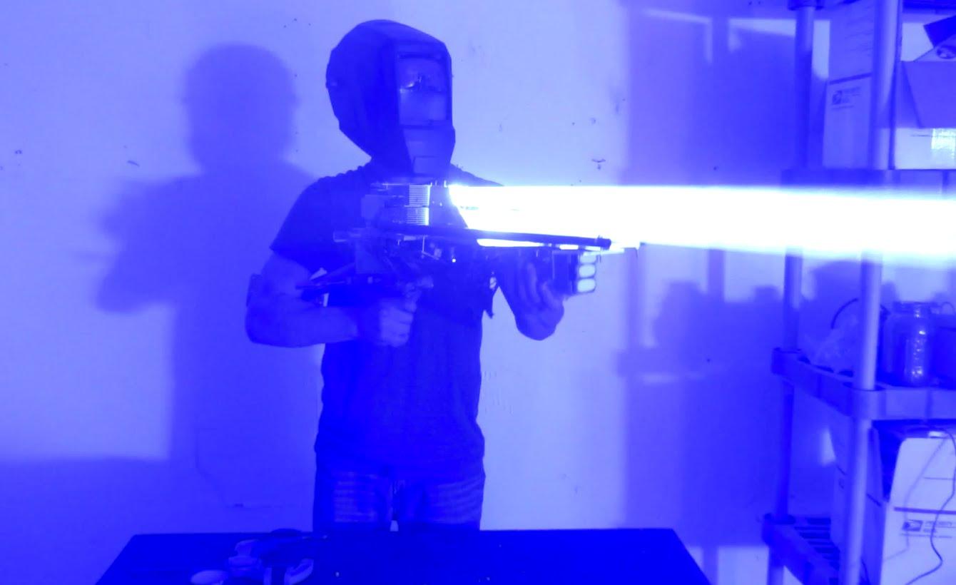 Homemade 200W Laser Bazooka