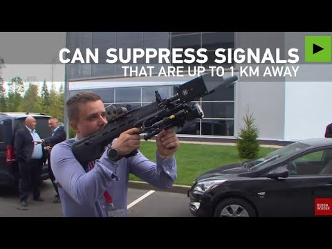 Kalashnikov Unveils Anti-Drone Weapon