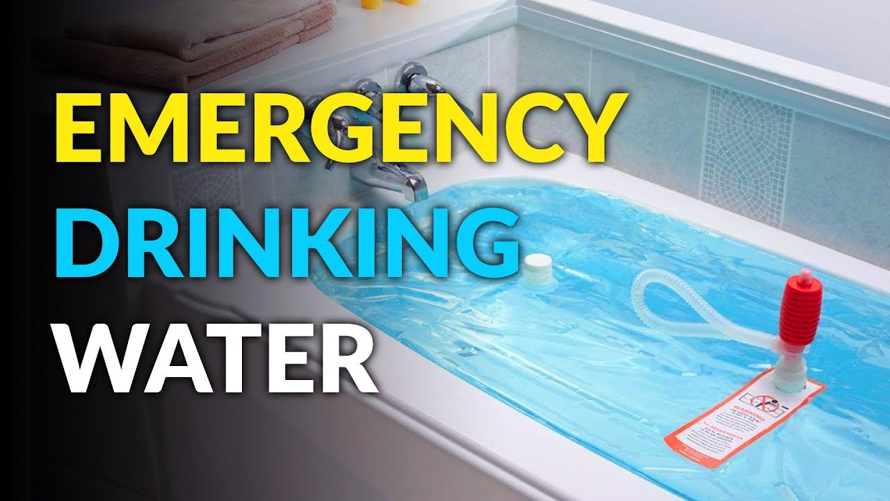 WaterBob: Emergency Bathtub Drinking Water Container