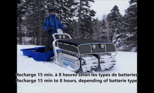 Amazing Electric Track-vehicle-thingy