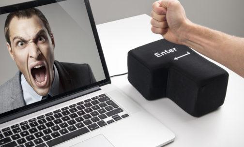 Big Enter Key for Stress Relief