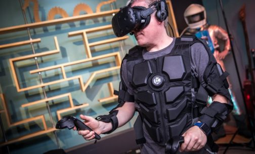 Hardlight VR Haptics Full Body Suit