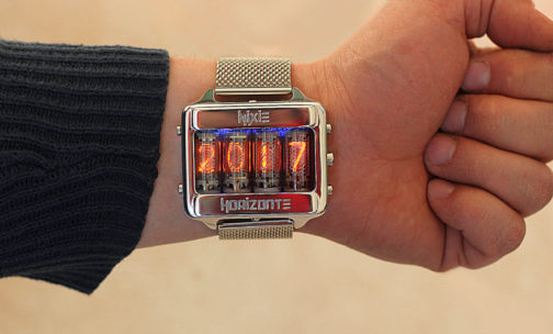Nixie tube klokke