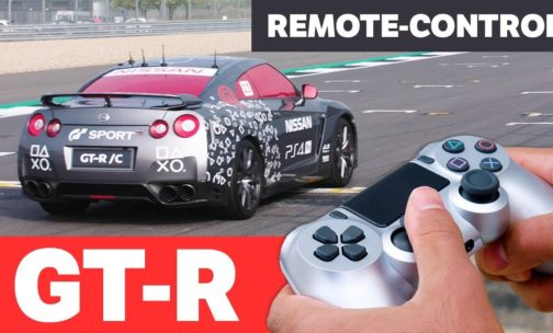 Remote-Controlled Nissan GT-R Can Be Driven with a PlayStation Controller and Hit 130MPH