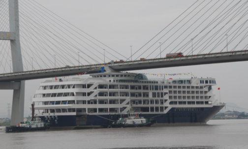 Ship Crashes Into Dock