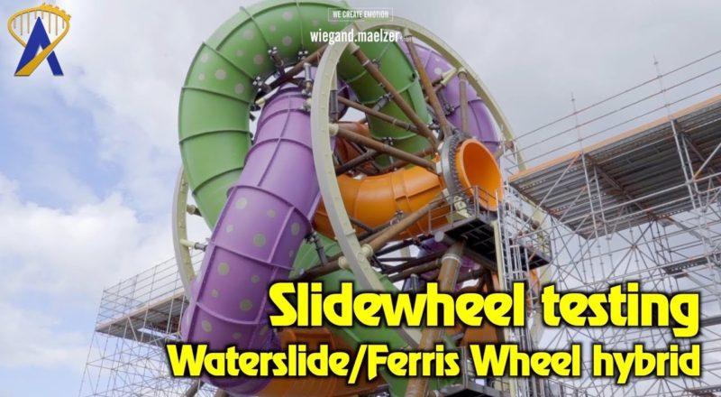 SlideWheel - Worlds most thrilling waterslide - or is it ?