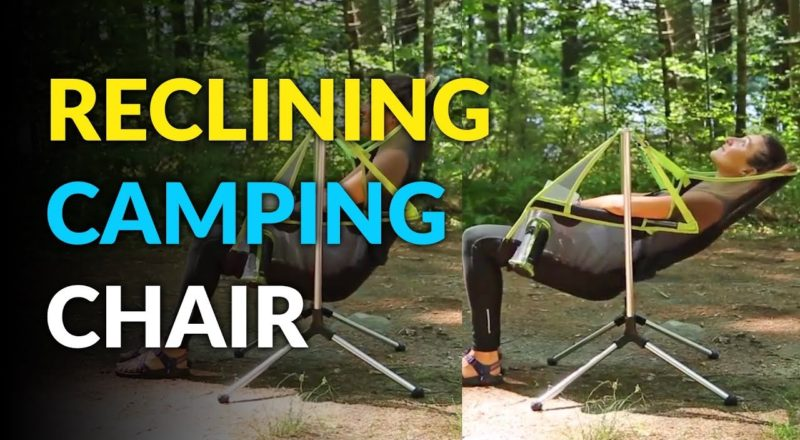 This Camping Chair Lets You Recline and Swing