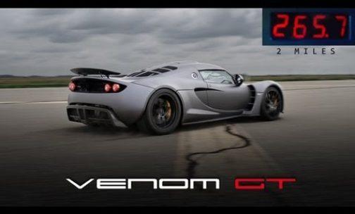 Venom GT Is Now Faster Than Bugatti Veyron