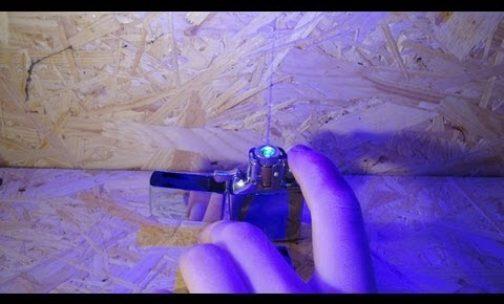 World's Most Powerful Burning Laser Lighter