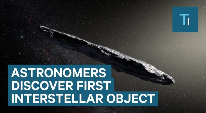 Astronomers Discover First Interstellar Object