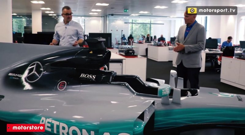 Can You Tell This F1 Car Is Not In The Actual Office?