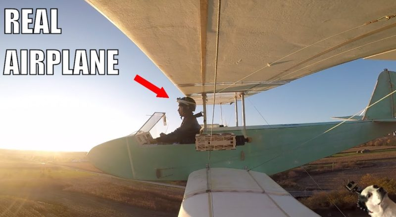 Homemade Full-size Electric Airplane