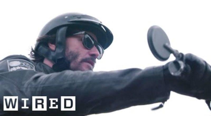Inside Keanu Reeves' Custom Motorcycle Shop