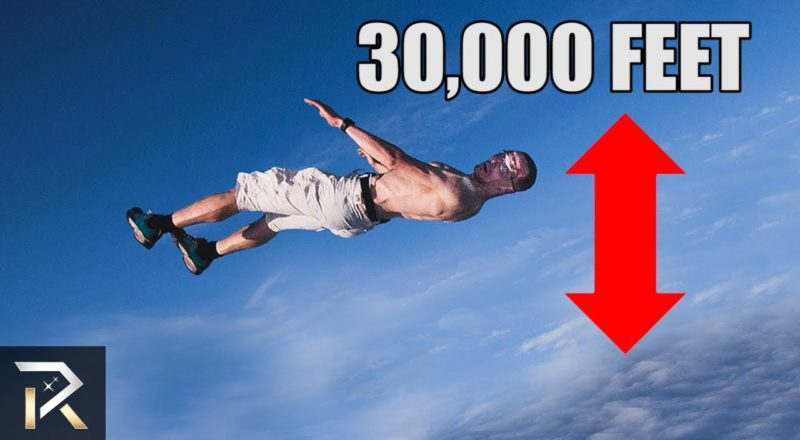 Is It Possible To SURVIVE A FALL From 30,000 Feet?