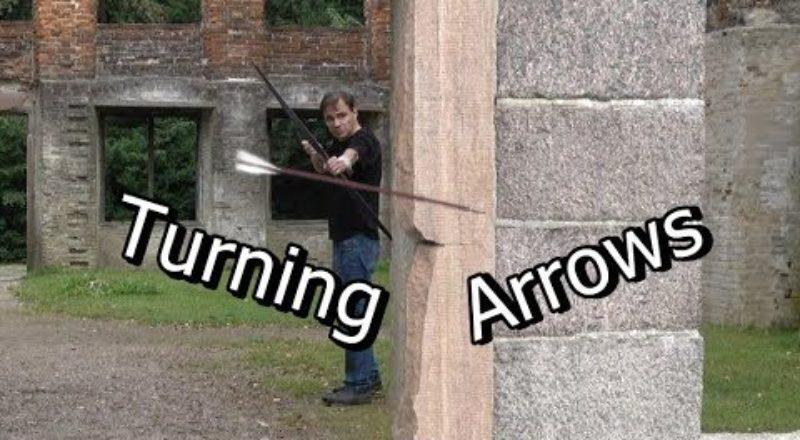 This Man Can Bend Arrow Flight
