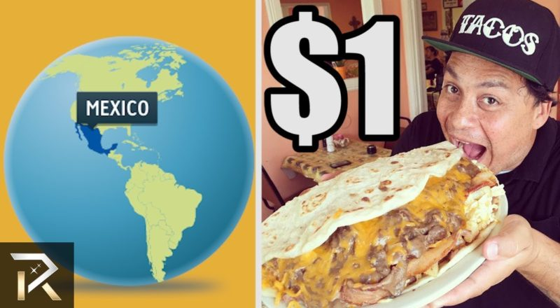 What $1 DOLLAR WILL BUY You Around The World?