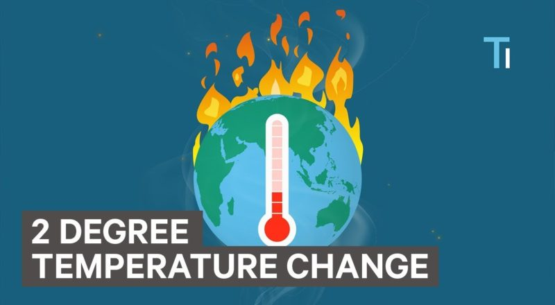 What Would Happen If The Earth Became 2 Degrees Warmer?